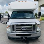 E-450 28 passenger charter shuttle coach bus for sale - Gas 9