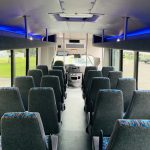 E-450 28 passenger charter shuttle coach bus for sale - Gas 13