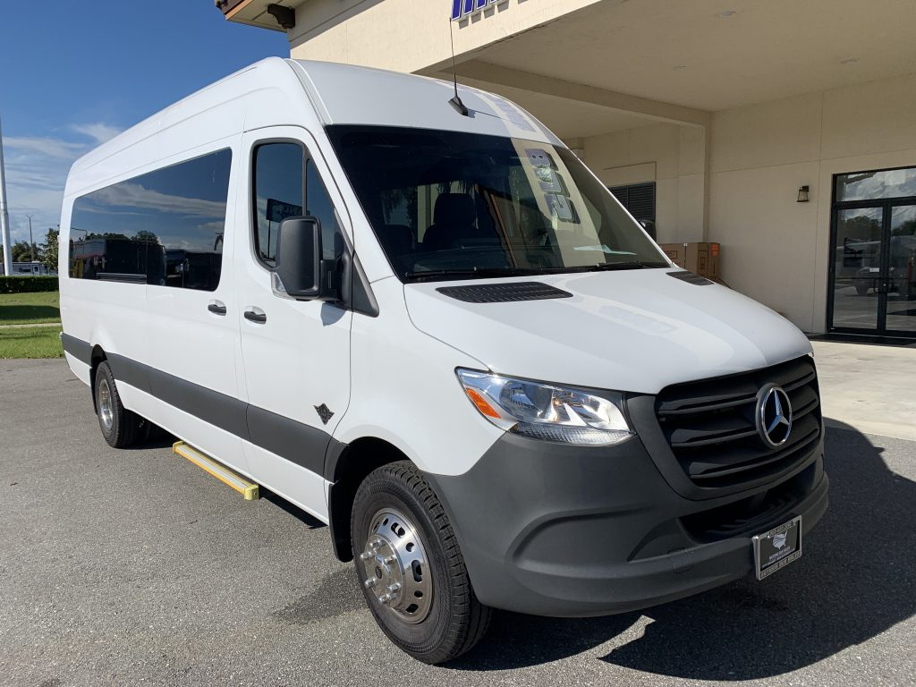 Mercedes Benz 13 passenger charter shuttle coach bus for sale - Diesel