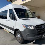 Mercedes Benz 13 passenger charter shuttle coach bus for sale - Diesel 1