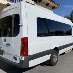 Mercedes Benz 13 passenger charter shuttle coach bus for sale - Diesel 3