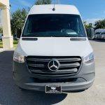 Mercedes Benz 13 passenger charter shuttle coach bus for sale - Diesel 9