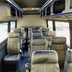 Mercedes Benz 13 passenger charter shuttle coach bus for sale - Diesel 11