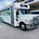 International 24 passenger charter shuttle coach bus for sale - Diesel 1