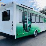 International 24 passenger charter shuttle coach bus for sale - Diesel 3