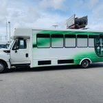 International 24 passenger charter shuttle coach bus for sale - Diesel 6