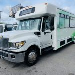 International 24 passenger charter shuttle coach bus for sale - Diesel 7