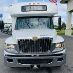 International 24 passenger charter shuttle coach bus for sale - Diesel 8